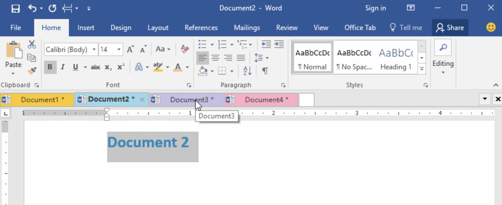 Как в Word Online удалить разрыв страниц